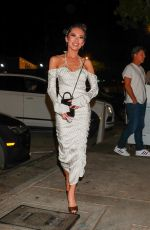 Christina Chiu Was seen arriving with her husband for a dinner at Craig