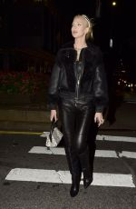 Christine Quinn Heads out to dinner at Catch in SoHo, New York