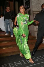 Ciara Wears a football-themed gown for the Met Gala in New York