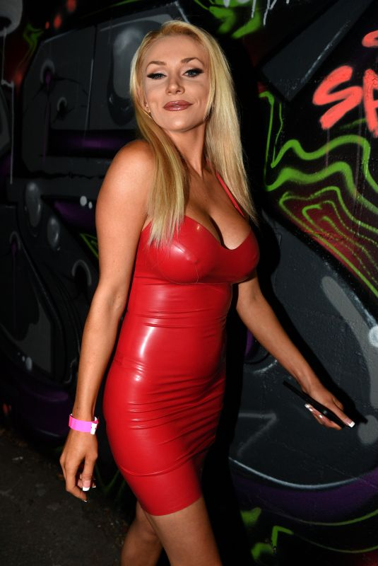 Courtney Stodden Is seen arriving at the 1720 in Downtown Los Angeles