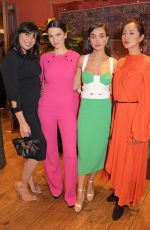 Daisy Lowe At Roland Mouret presents Terma by Magaajyia Silberfeld in London
