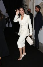 Demi Moore Arrives at the Versace - Fendi drop collection during Milan Fashion Week