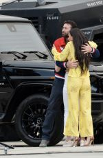 """Demi Moore Spotted on the set of """"The Unbearable Weight Of Massive Talent"""" in Los Angeles"""