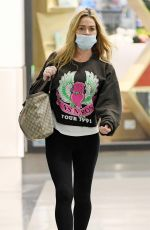 Denise Richards Pictured for the first time since her daughters claims of an abusive household