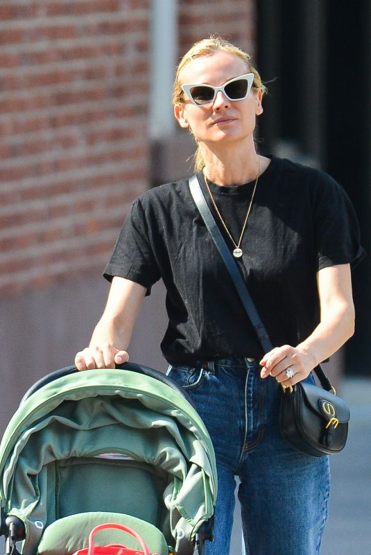 Diane Kruger and her mother are all smiles in New York City