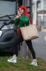 Dianne Buswell Leaves rehearsals in London