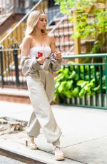 Dove Cameron Doing a shoot in NYC