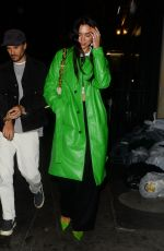 Dua Lipa Out for dinner with friends in London