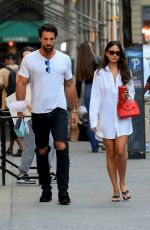Eiza Gonzalez Steps out for dinner in New York