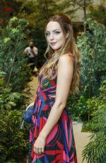 Elizabeth Gillies Attending the PatBO show during New York Fashion Week