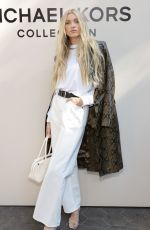 Elsa Hosk Attends the SP22 Michael Kors Collection Runway Show at Tavern On The Green in New York City