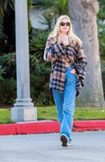 Elsa Hosk Spotted out & about in Pasadena