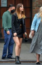 Emilia Jones Is pictured stepping out in New York
