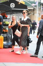 Emily Blunt At Hotel in New York City