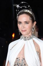 Emily Blunt Celebrities departing The Mark Hotel in New York City for the 2021 Met Gala