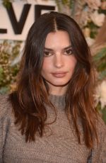 Emily Ratajkowski Attends the inaugural REVOLVE GALLERY at Hudson Yards in New York City