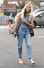 Emma Slater Arrives at the Dancing with the Stars rehearsals in Los Angeles