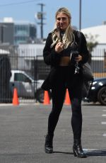 Emma Slater Seen at Dancing With the Stars Season 30 - Rehearsals in Los Angeles