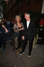Emma Thompson Arrives at The Icon Ball in London