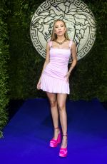 Ester Exposito At Versace Special Event during the Milan Fashion Week