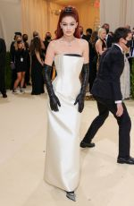 Gigi Hadid Attends The Met Gala Celebrating In America: A Lexicon Of Fashion at Metropolitan Museum of Art in New York City