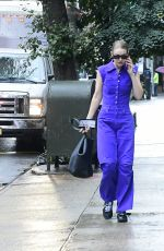 Gigi Hadid Pictured stepping out in New York