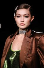 Gigi Hadid Walks the runway for Tom Ford SS22 in New York City