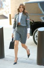 Hailee Steinfeld At Thom Browne Fashion Show in NYC