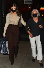 Hailee Steinfeld Spotted leaving Carbone after having dinner with her grandmother in NY