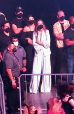 Harry Styles & Olivia Wilde At first concert in his Love on Tour series of concerts at the MGM Grand Garden Arena in Las Vegas