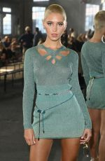 Iris Law On the front row of the Missoni fashion show during the Milan Fashion Week - Spring / Summer 2022 in Milan, Italy