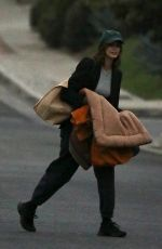 Jacob Elordi & Kaia Gerber Attempt to lay low while leaving early morning for their romantic getaway in Malibu