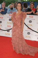 Janette Manrara Attends the National Television Awards 2021 at The O2 Arena in London, England