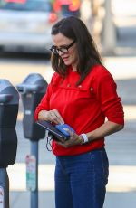 Jennifer Garner Takes her son Samuel shopping for chocolate at Edelweiss Chocolates at the Brentwood Country Mart