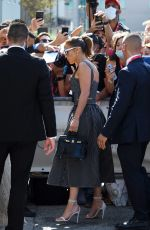 Jennifer Lopez Arriving at the Casino as part of the 78th Venice International Film Festival in Venice