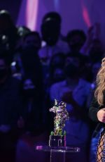 Jennifer Lopez Attends the 2021 MTV Video Music Awards at Barclays Center in Brooklyn