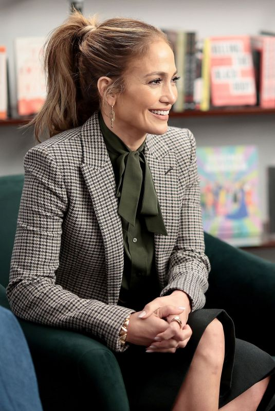 Jennifer Lopez Attends the Goldman Sachs 10,000 Small Businesses event to celebrate National Hispanic Heritage Month in New York