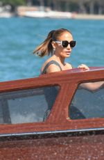 Jennifer Lopez Makes time to greet eager fans while arriving for the 78th Venice Film Festival