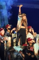 Jennifer Lopez Rehearses with Ja Rule and LL Cool J at Central Park ahead of the Global Citizens Festival in New York