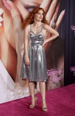 """Jessica Chastain Attends the """"The Eyes Of Tammy Faye"""" Premiere at SVA Theater in New York City"""