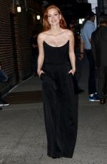 Jessica Chastain Seen out and about in New York City