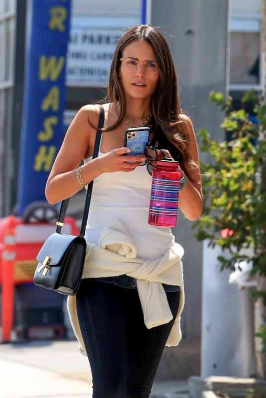 Jordana Brewster Spotted out shopping for sunglasses in West Hollywood