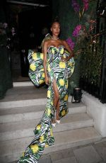 Jourdan Dunn Pictured at the Swarovski party in London