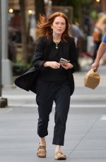 Julianne Moore Steps out in New York City