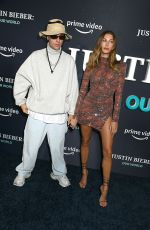 Justin Bieber and wife Hailey Bieber At JUSTIN BIEBER, OUR WORLD - NY Special Screening Event, New York