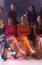 Justine Skye and Amelia Gray Attend the front row for Christian Cowan NYFW Spring/Summer