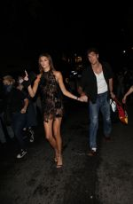 Kaia Gerber & Jacob Elordi Arriving at MET Gala after party in New York