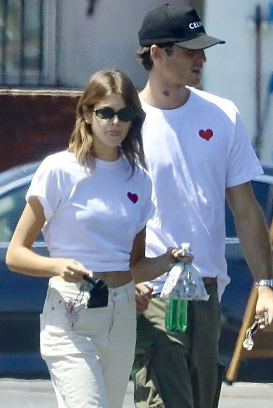 Kaia Gerber & Jacob Elordi Out in Los Angeles