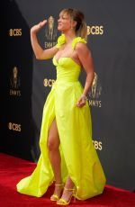 Kaley Cuoco At 73rd Primetime Emmy Awards at L.A. Live in Los Angeles