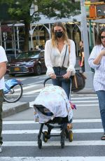 Karlie Kloss Spotted walking back to her apartment in New York City